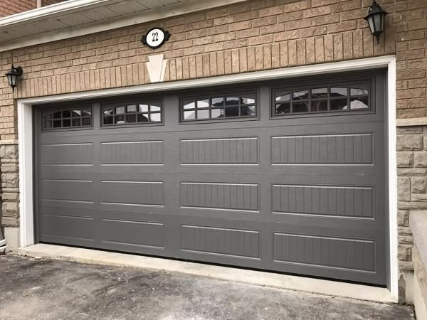 Long Carriage Style Garage Doors