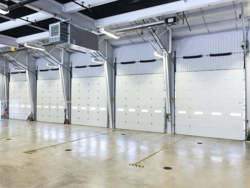 Model 8000 Commercial Doors High Lift